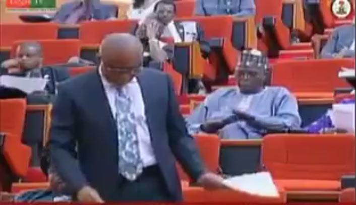 Video of Senator blasting Executive over 2017 budget