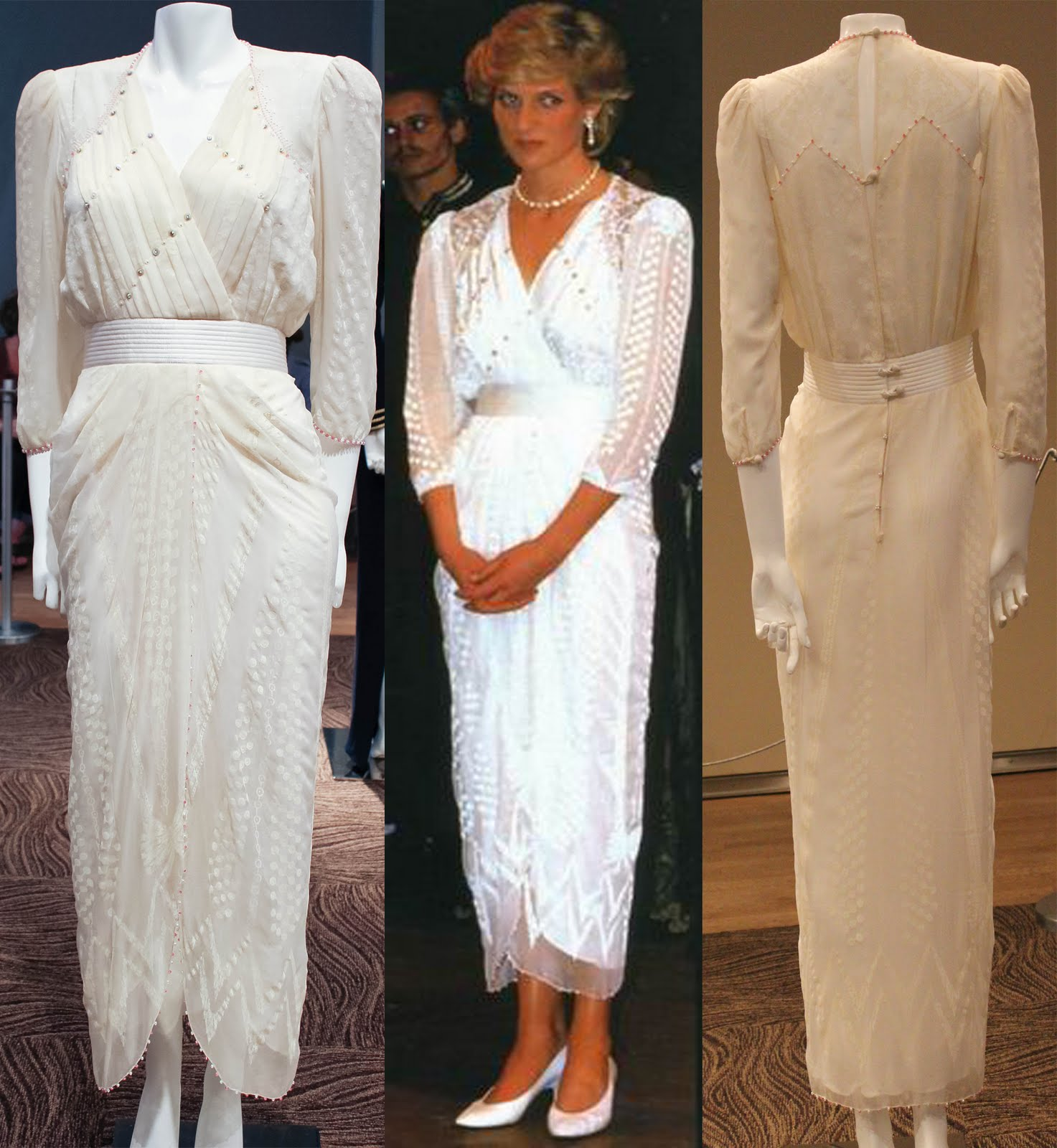 Shades of White The Princess Diana Dress Collection at