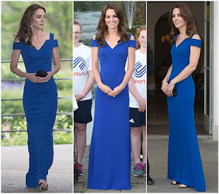 Roland Mouret Nansen Gown, Duchess Kate Middleton, fashion
