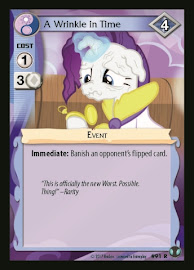 My Little Pony A Wrinkle in Time Defenders of Equestria CCG Card