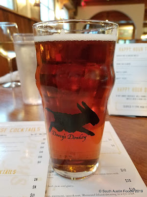 Darcy's Donkey red ale