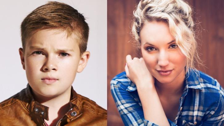 Last Man Standing - Season 7 - Molly McCook and Jet Jurgensmeyer