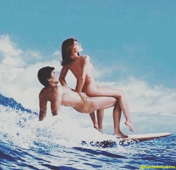 SURF pareja WTF FUN