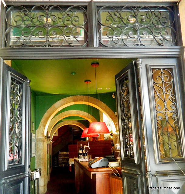 Restaurante Café no Chiado, em Lisboa