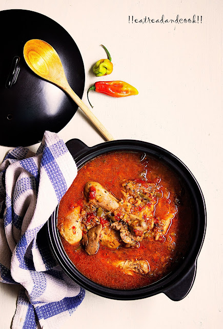 how to make Ivorian Chicken Stew / Poulet kedjenou recipe and preparation with step by step pictures