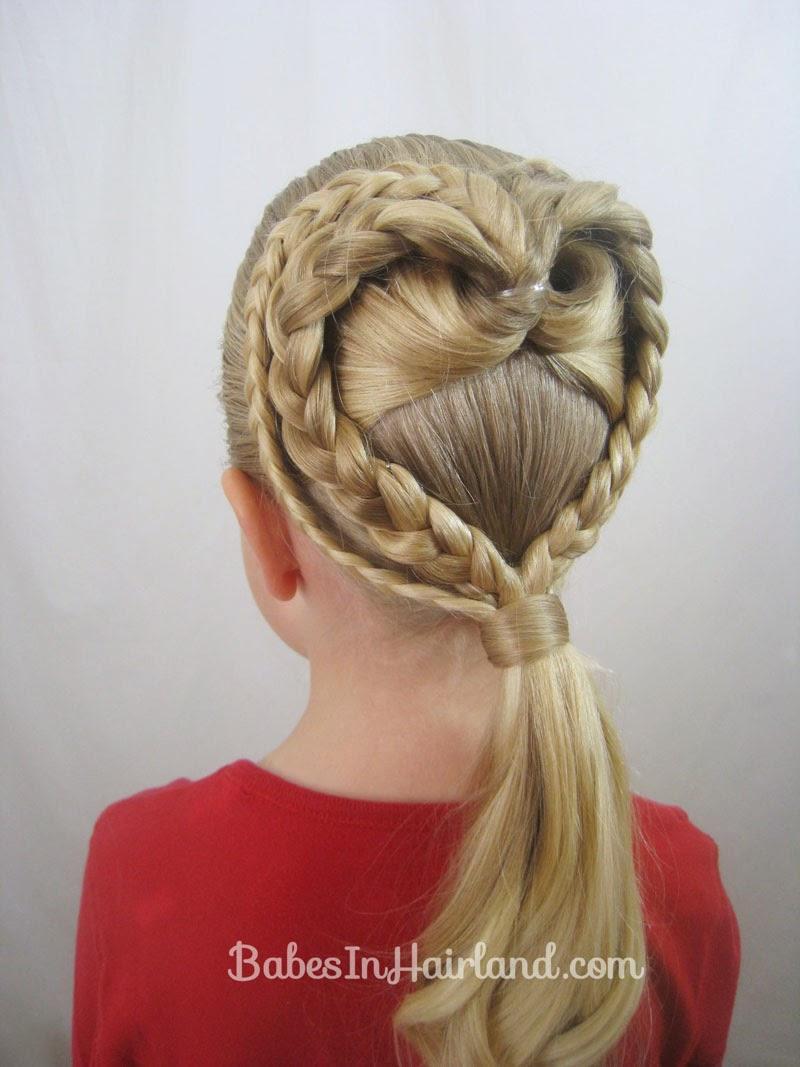 Phenomenal 13 Valentine39S Day Hairstyles Hairstyles For Girls Princess Hairstyles For Women Draintrainus