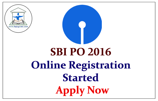 how to become bank po in sbi