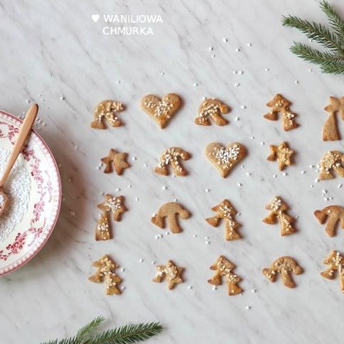 Ciasteczka korzenne z pomarańczową nutą (wegańskie)