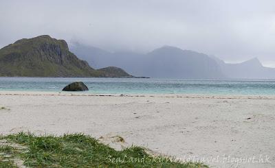 挪威,  羅浮敦群島, lofoten island, norway, haukland beach
