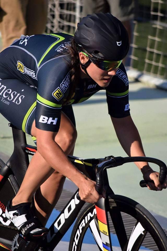 Helena Casas sube al podio de los 6 Días de Berlín en ciclismo en pista