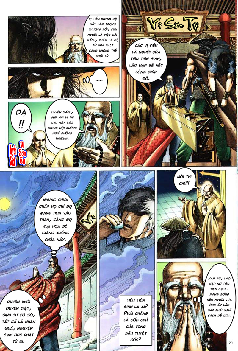 Anh hùng vô lệ Chap 6: Anh hùng hữu lệ trang 20