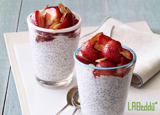 10 Kinds of Healthy Snacks for Diabetics : Chia Seed Pudding