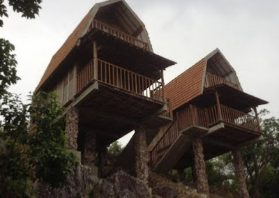 bungalow tingkat di cocohuts hotel Karimun Jawa