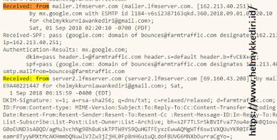 Cara melacak IP address dari email v