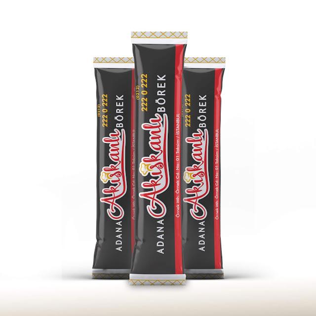 Adana Akışkanlı Börek stick şeker Tasarımı