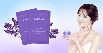LANEIGE Water Sleeping Mask Lavender Free Sample