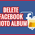 How to Delete All Facebook Photos