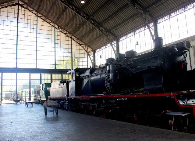 Museo del Ferrocarril de Madrid. Estación de Delicias