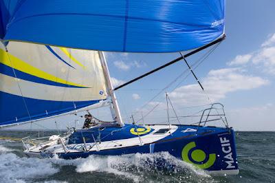 Les skippers Macif sur la Le Havre All Mer Cup