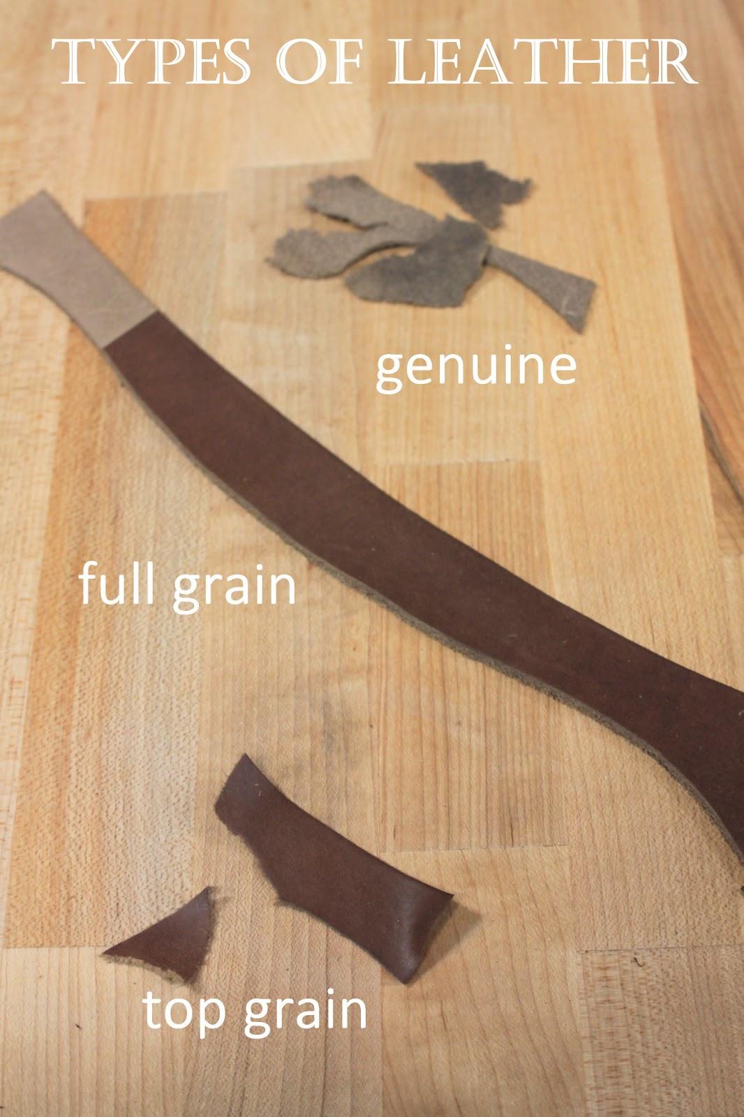 Top Grain Vs Full Grain Leather Sofa  TheSofa