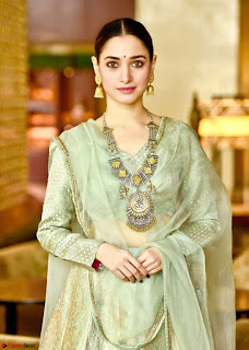 Tamannah Bhatia Stunning in Green Salwar Suit Amazing Beauty Ethnic Suit Feb 2017 05.jpg