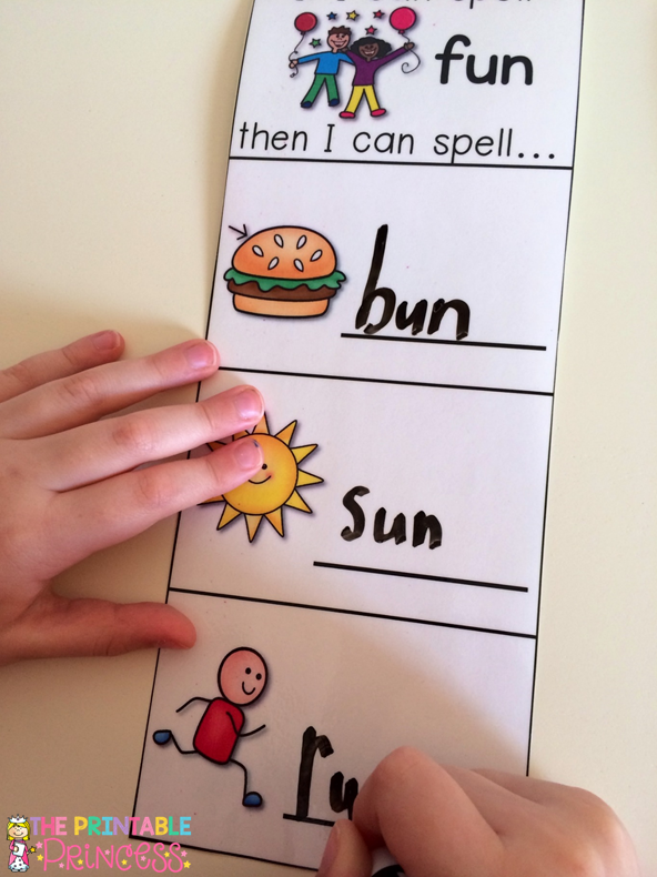 If your Kindergarten or 1st grade students are in dire need of some CVC practice, this is for you! Let them see how changing one letter in a word can build an entirely new word! Your students literacy skills with soar with this quick, easy to prep activity! It will help your students read, build, and write CVC words. It's also great for rhyming words!  {Word Families included: ad, ag, am, an, ap, at, ed, en, et, ig, in, ip, it, og, op, ot, ub, ug, un, ut}