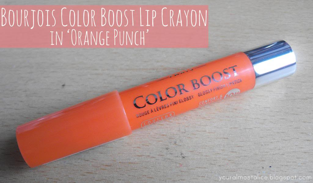 Bourjois Colorburst Lip Crayon in Orange Punch