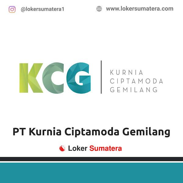 Lowongan Kerja Medan, PT Kurnia Ciptamoda Gemilang Juni 2021