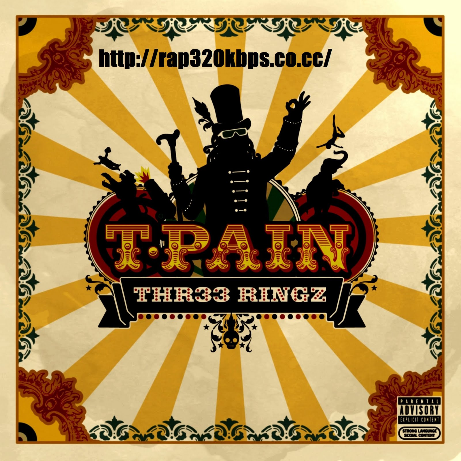 T-Pain - Thr33 Ringz (Deluxe Edition) (2008) [320 Kbps