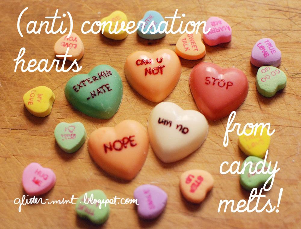 Anti Conversation Hearts