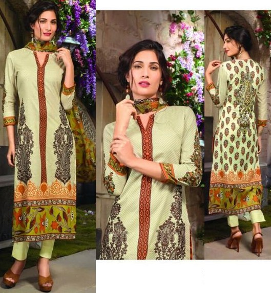 Deepak Perwani Summer Lawn Collection 2016-2017 by Sahiba Fabrics