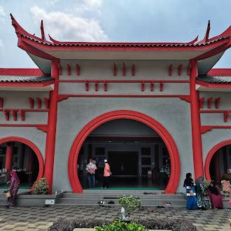 Singgah Solat Di Masjid Cina Krubong, Melaka