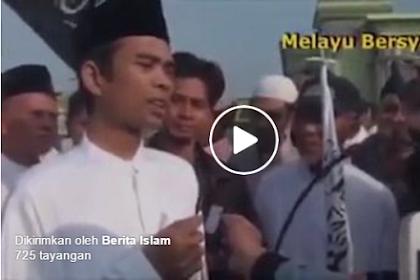 Meski Ulama NU, Ustadz Abdul Somad Tanggapi Soal Pembubaran HTI, Umat Islam Jangan Mau Diadu Domba