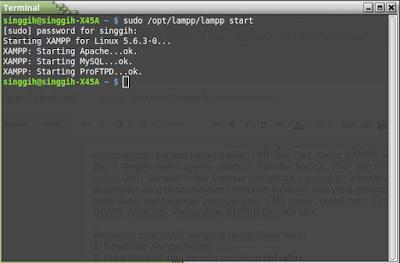 Cara Install Xampp Di Ubuntu/Linux Mint