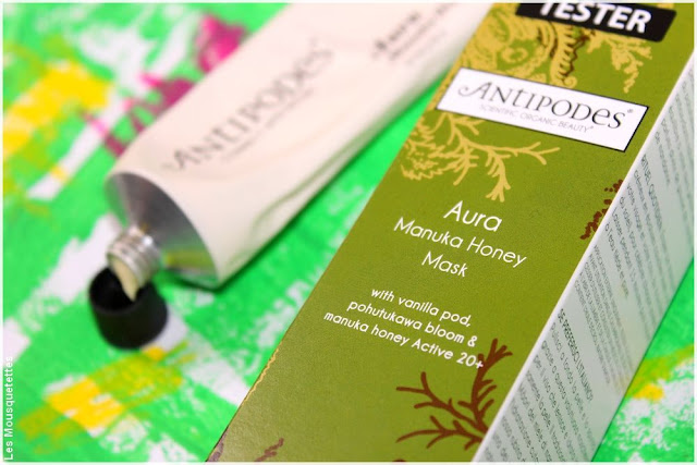 Aura, manuka honey mask - Antipodes, Ecocentric - Blog beauté