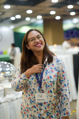 Corporate Events Manager Maria Carmela Esquivias, at TELUS McKinley West