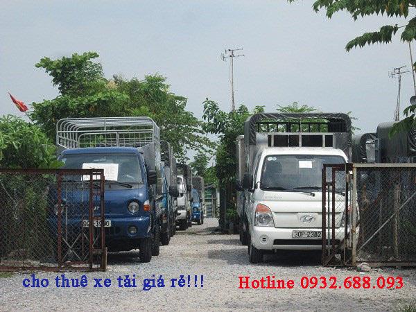 Đội xe tải cho thuê