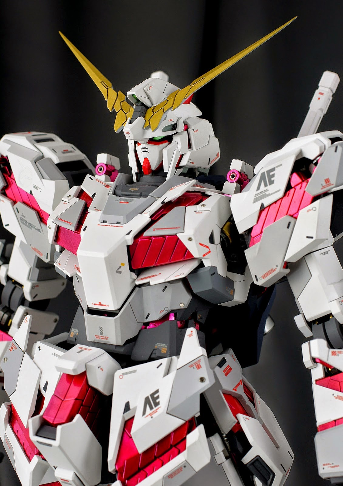 Painted Build Pg 1 60 Rx 0 Unicorn Gundam Quot Detailed