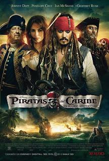 Piratas del Caribe. En mareas misteriosas - Cartel
