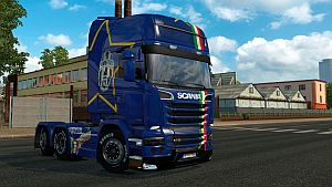 Juventus skin for Scania Streamline