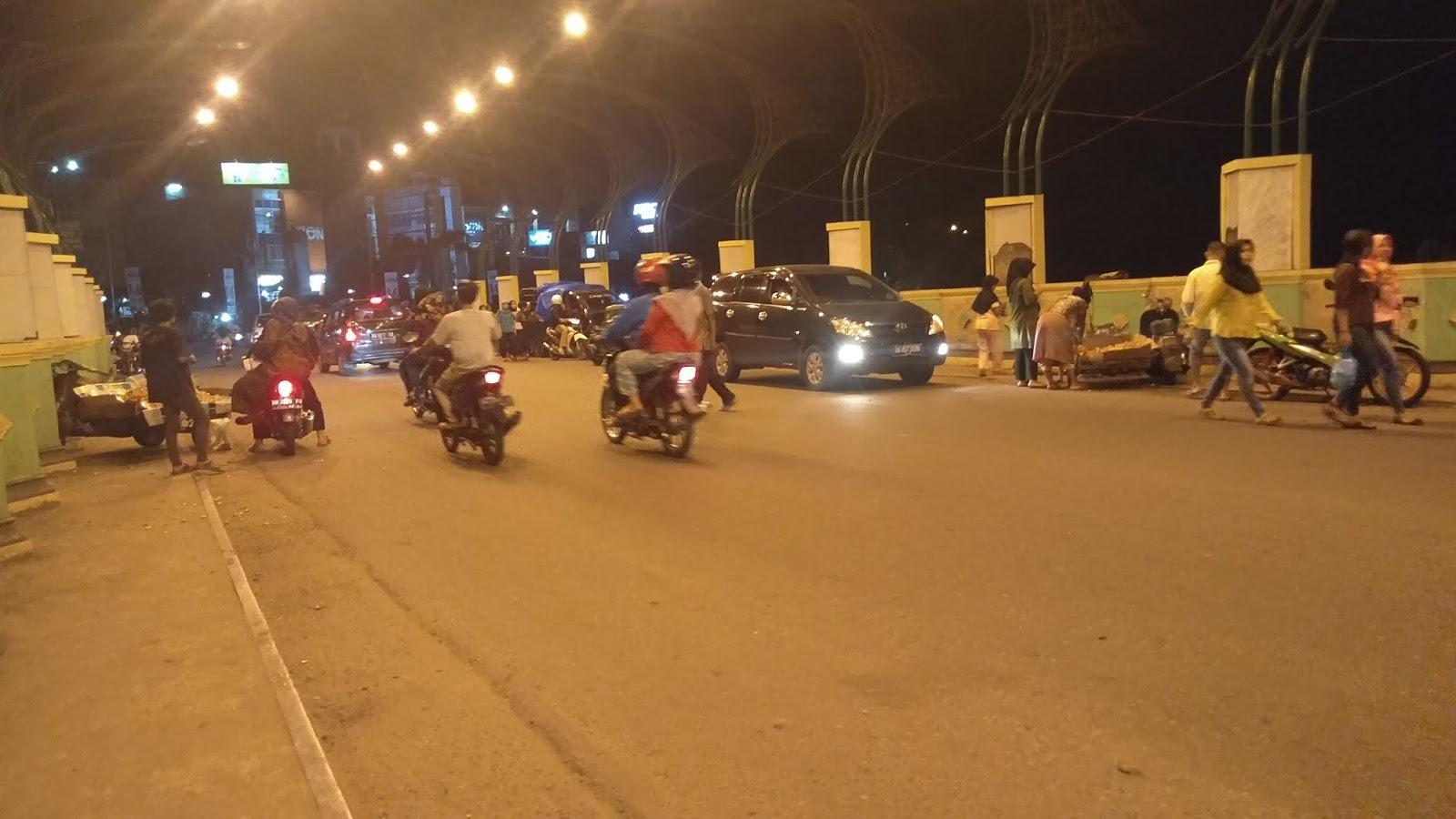 Alih Fungsi Jembatan Siborang Kota Padangsidimpuan Dijadikan Lahan Berdagang