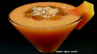 Papaya shake (Nutritional Drink)