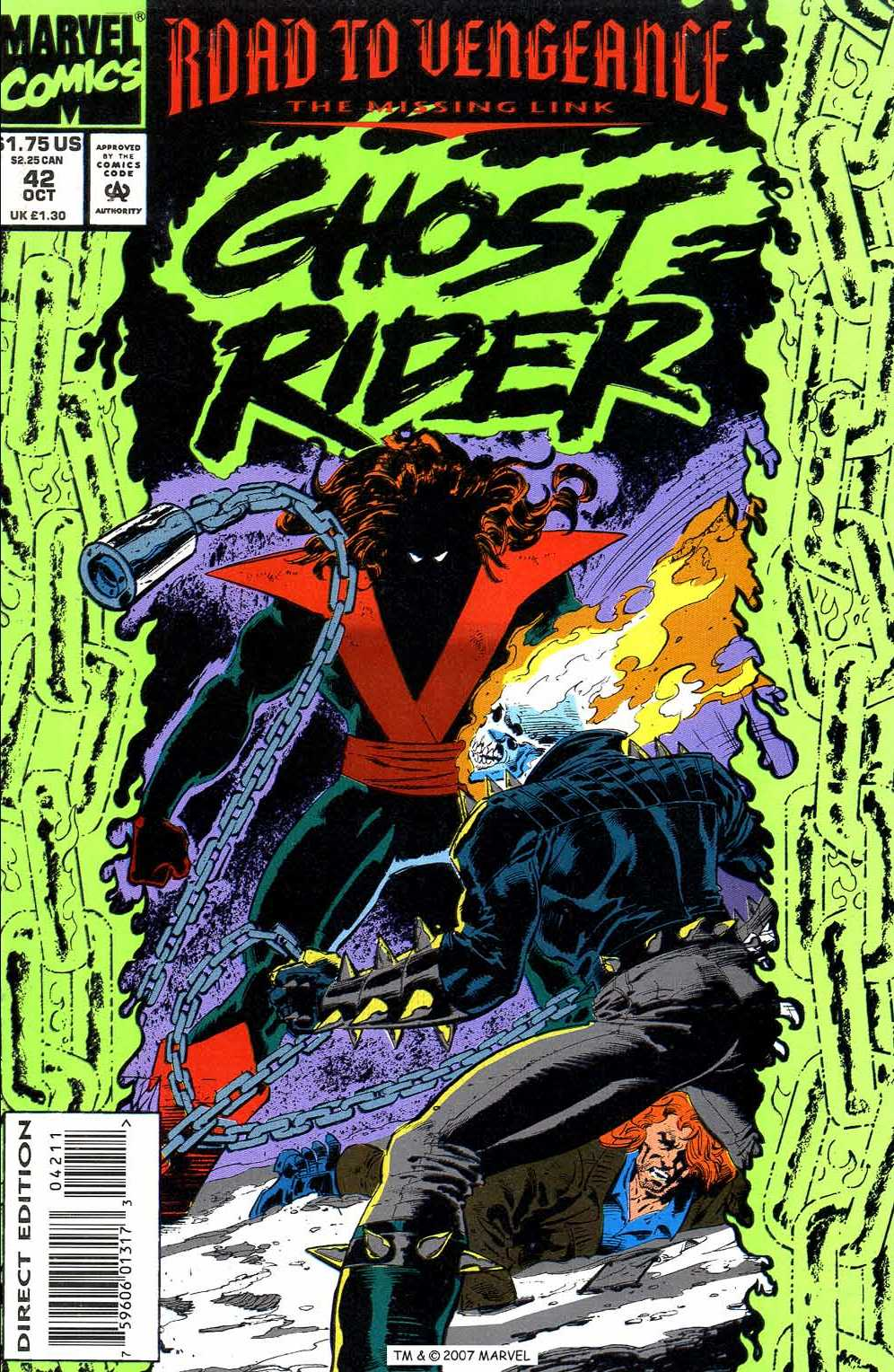 Ghost Rider (1990) 42 Page 1