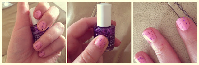 Fuchsia dazzle top coat | AVON 2013 | Love, Maisie