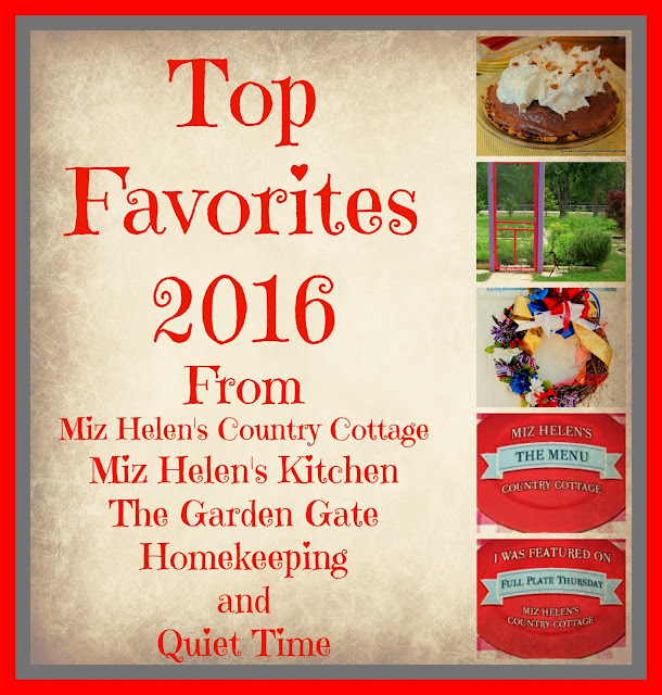 Top Favorites 2016 at Miz Helen's Country Cottage