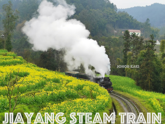 Jiayang Steam Train - Last Small Gauge Steam Train Service in the World & Bajiaogou 嘉阳小火车. 芭蕉沟