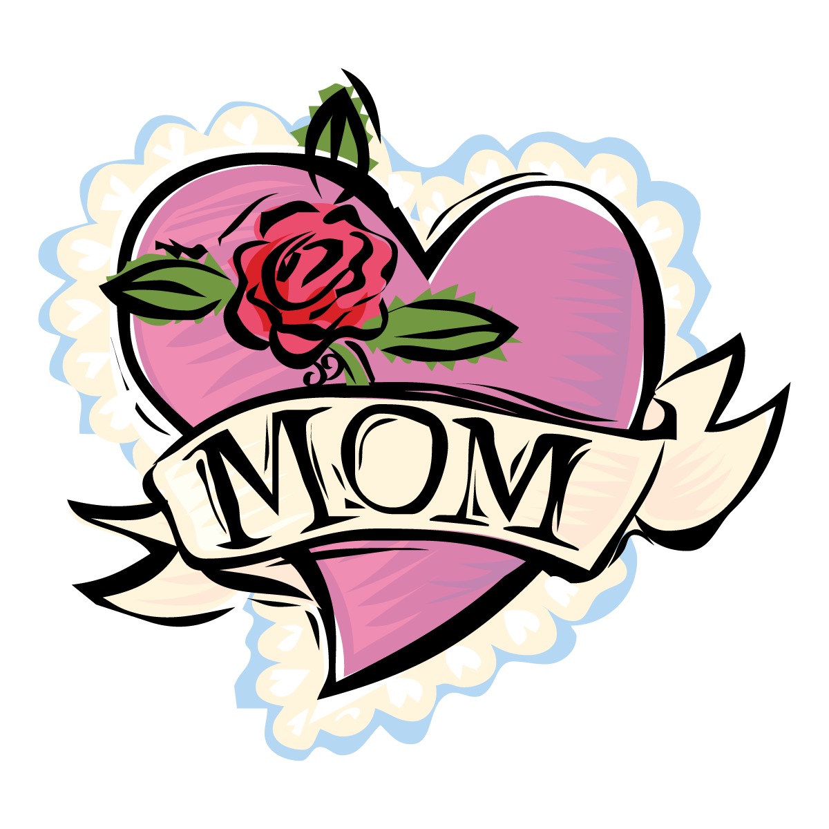 hight resolution of happy mothers day clipart