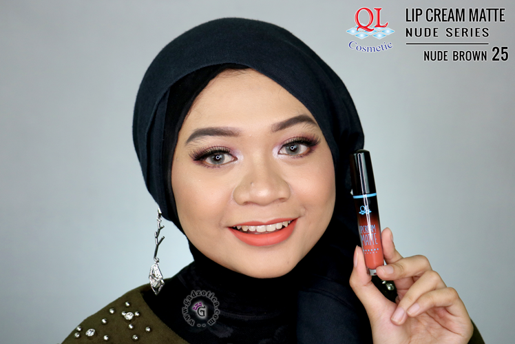 QL Lip Cream Matte 25 Nude Brown