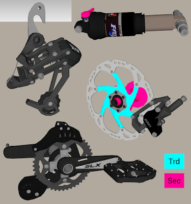 gta sa mod tuning mod banshee rampant bike bicicleta coroa marcha freio disco