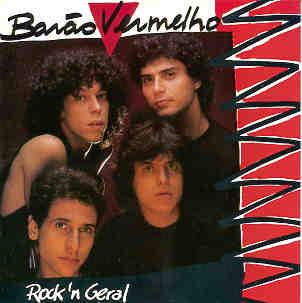 """Capa do disco """"Rock' n Geral"""" que o grupo Barão Vermelho lançou 1987"""